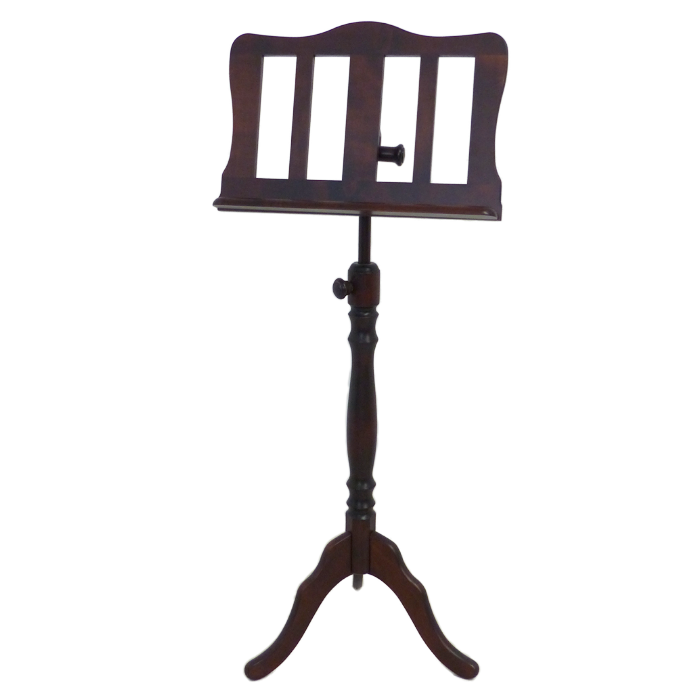Music Stand Mahogany finish New